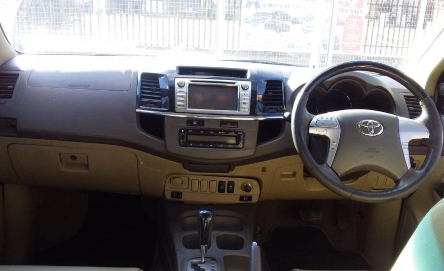 2012 Toyota Fortuner 3.0 D-4D R/B Auto