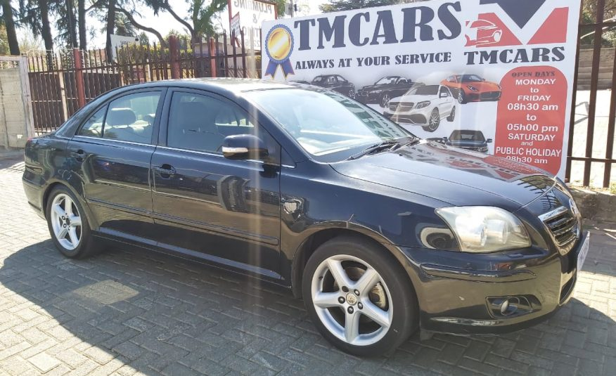 2007  Toyota Avensis 2.2 D-4d Exclusive