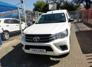 2016 Toyota Hilux 2.0 VVT Single Cab Bakkie