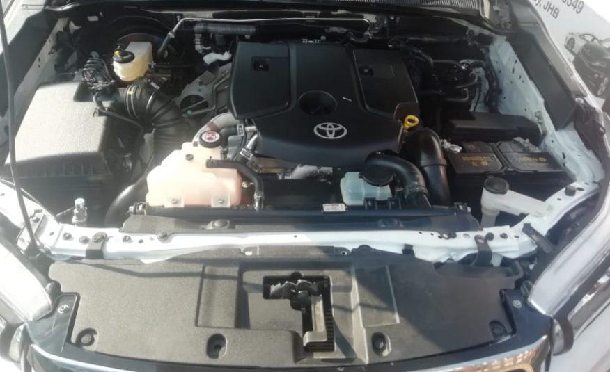 2018 Toyota Hilux 2.4 GD-6 RB SRX Double Cab Bakkie