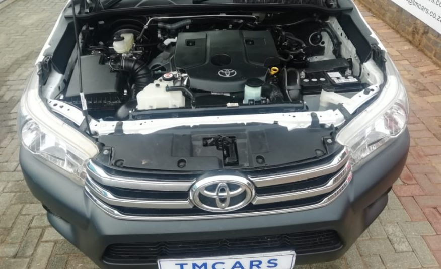 2019 Toyota Hilux 2.4 GD-6 RB SRX Single Cab Bakkie