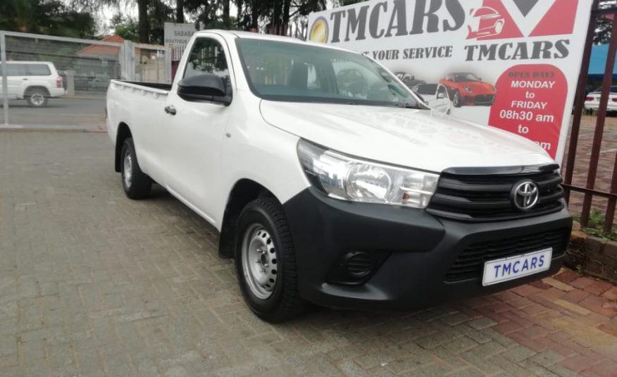 2016 Toyota Hilux 2.0 Vvti S P/u S/c