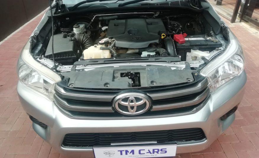 2017 Toyota Hilux 2.4 GD-6 RB SRX Single Cab Bakkie