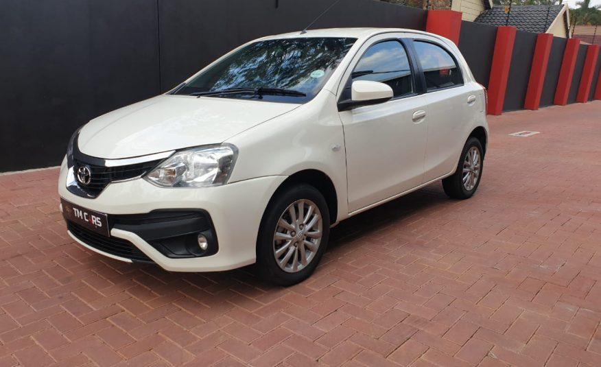 2019 Toyota Etios 1.5 Xs