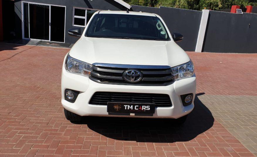 2018 Toyota Hilux 2.4 GD-6 RB SRX Extended Cab Bakkie
