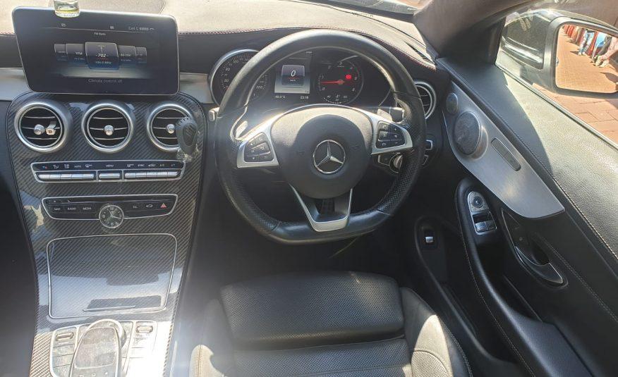 2016 Mercedes-Benz C-Class C220d AMG Coupe Auto