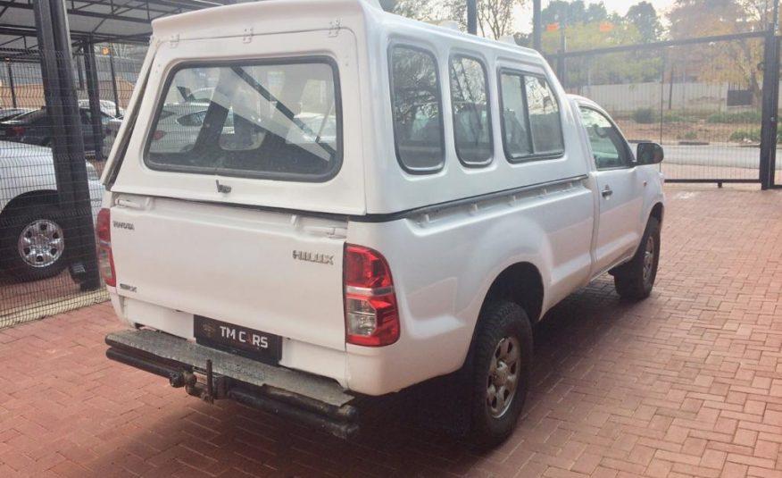 2013 Toyota Hilux 2.5 D-4D Single-Cab