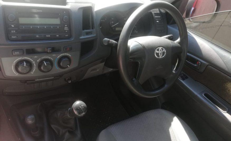 2013 Toyota Hilux 2.5 D-4D 4X4 Single-Cab