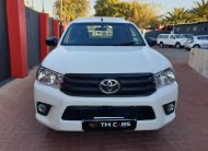 2018 Toyota Hilux 2.4 GD-6 SR Single-Cab