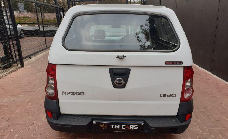 2015 Nissan NP200 1.5 dCi