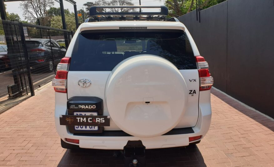 2017 Toyota LandCruiser Prado 4.0 V6 VX Auto