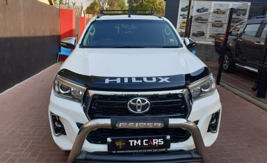 2018 Toyota Hilux 2.8 GD-6 Raised Body Raider Double-Cab Auto