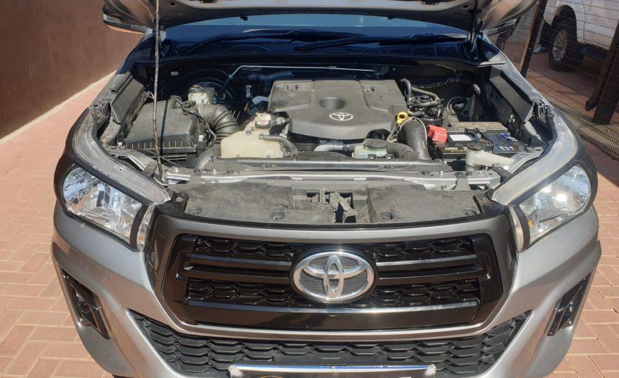 2018 Toyota Hilux 2.4 GD-6 SRX 4×4 Double-Cab